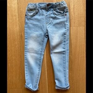 Zara toddler jeans size 3-4 years
